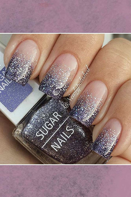 Glitter Ombre Ideas Colors
