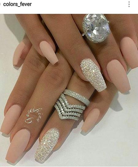 Silver Coffin Smink Manicure