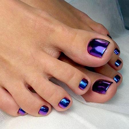 New Toe Nail Design, Toe Black Toenail Pedicure