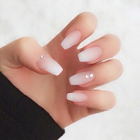 Cute Summer Acrylic Nails, Ombre Beautiful Acrylic Very