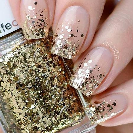 Glitter Polish Gel Ring