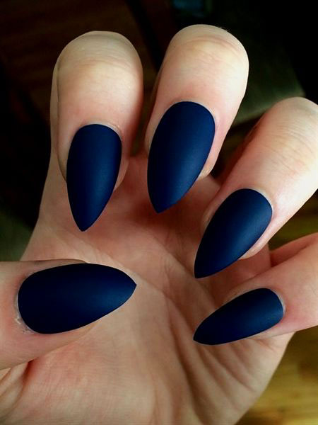 Matte Stiletto Fake Acrylic