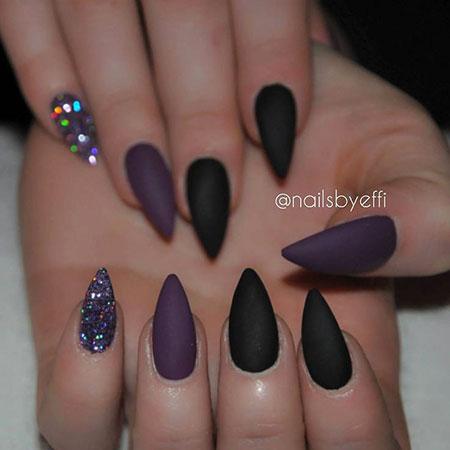 Acrylic 2018 Black Purple