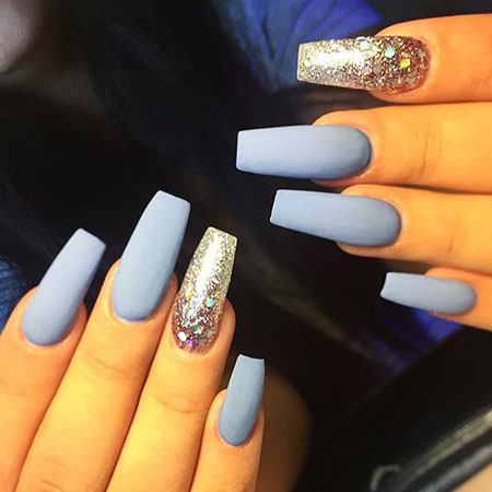 Blue Silver Pro Matte