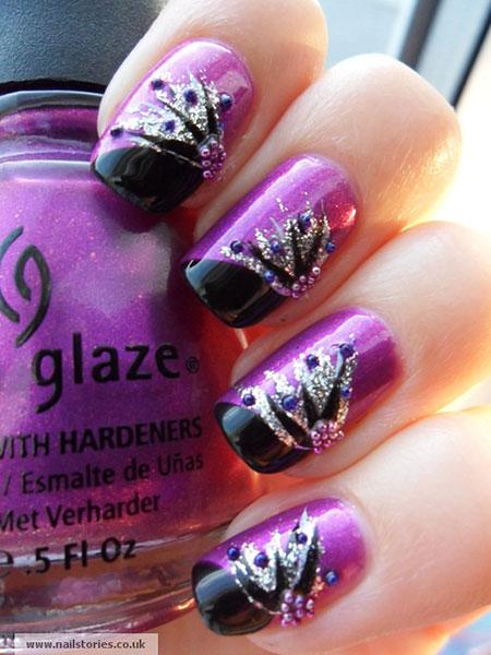 Silver Purple Most Polish