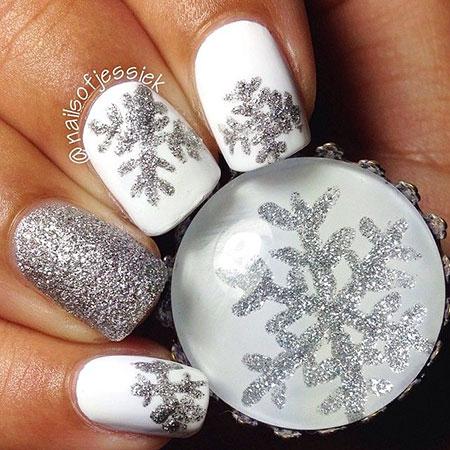 Christmas Photo Style Snowflake