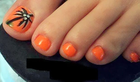 Pedicure Toe Shellac Manicure
