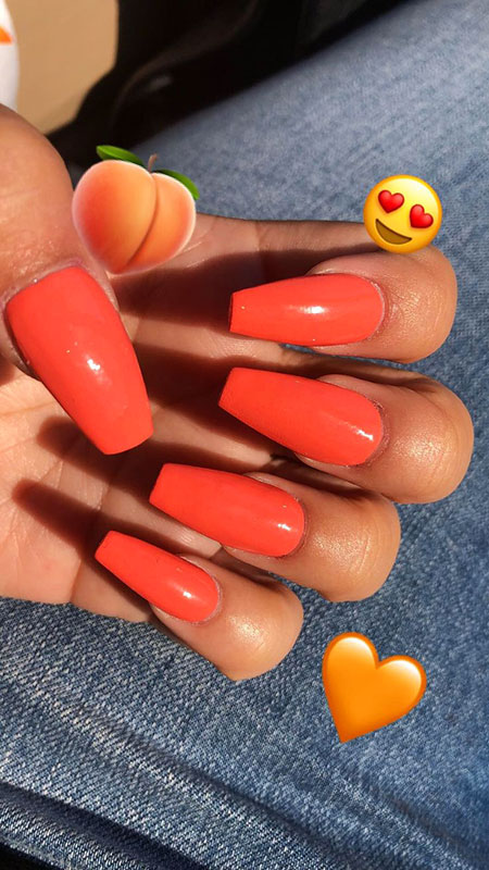 Acrylic Cute Summer Ongles