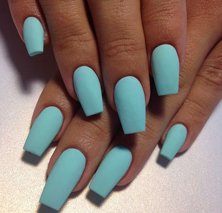 Matte Acrylic Blue Color