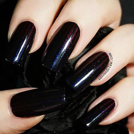 Polish Black Zoya Glaze