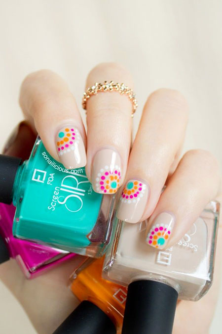Summer Dots Ideas Simple