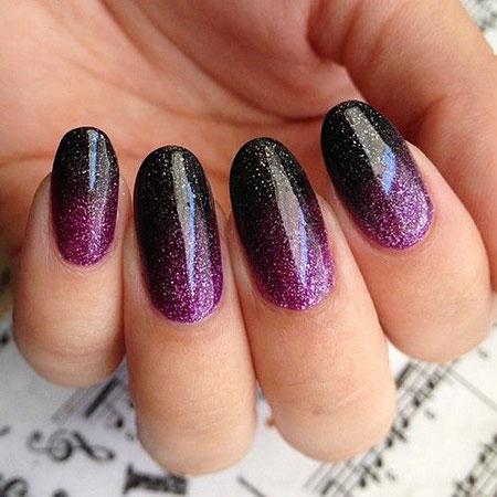 Purple Polish Manicure Love