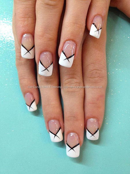 Bridal Fashion Nail Trend, French Manicure Long Kinds