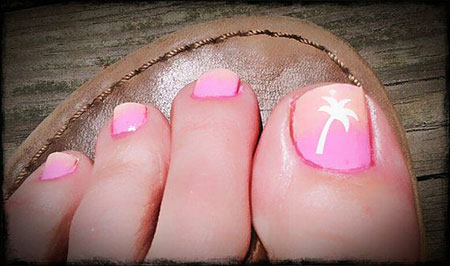 Toe Tree Decals Tropical