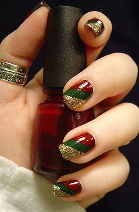 Christmas Green Red Gold