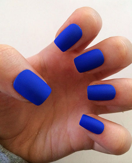 Matte Blue Fake Royal