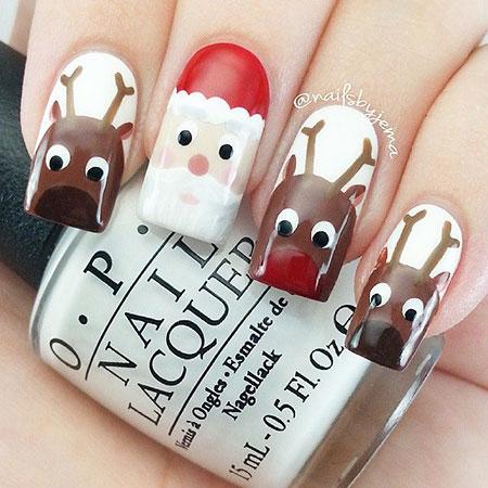 Christmas Santa Reindeer Holiday
