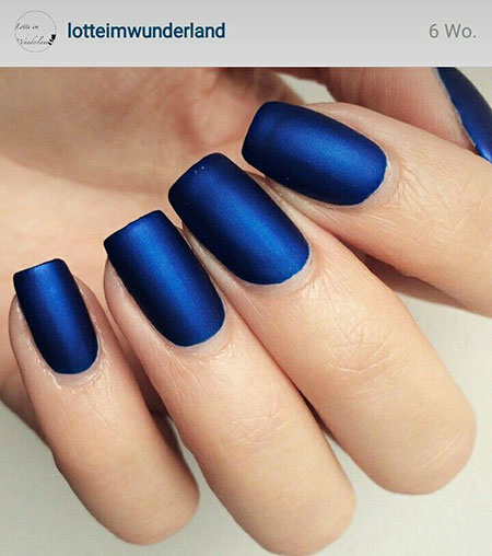 Gel Matte Top Blue