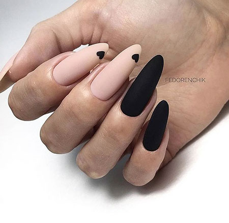 Manicure Oval Shaped Matte