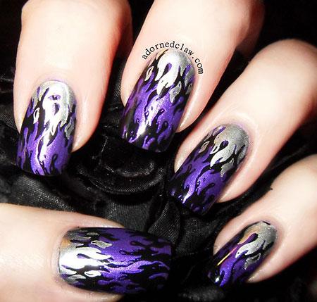 Purple Hd China Black