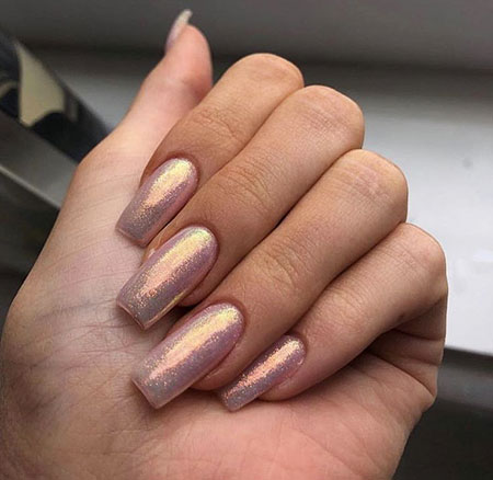 Manicure Long Luxury Square