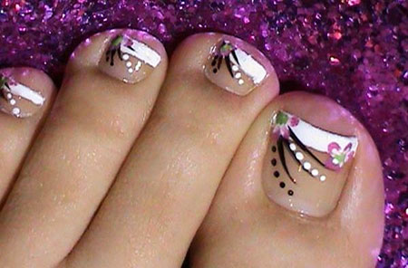 Toe Toes French Manicure