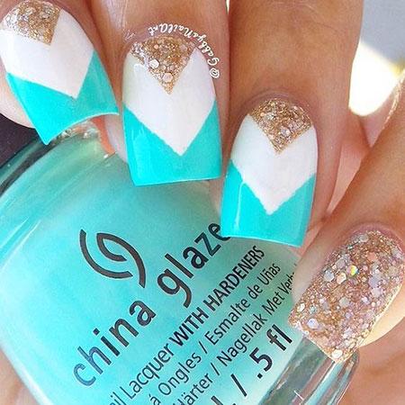 Best Black Glitter Manicure