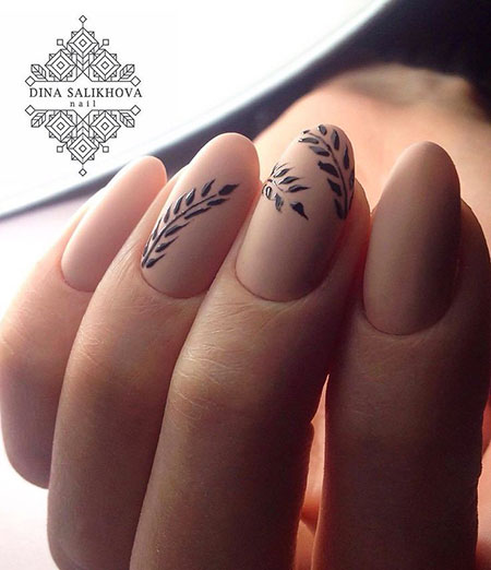 Simple Medium Design on Nails, Manicure Black Cute Pedicure