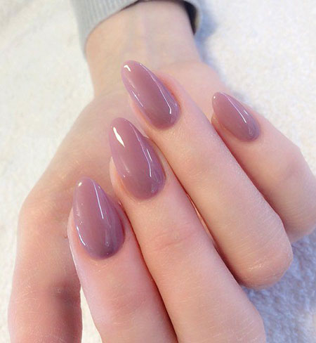 Natural Nails with Oval Shape, Acrylic Manicure Acrylics Педикюр