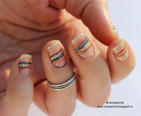 Minimalist Nail Design, Winter Spring Manicure Simple