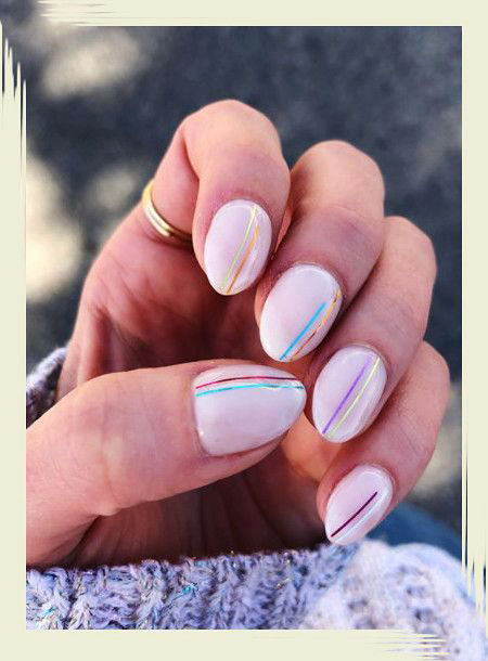 Manicure Cool Simple Creative