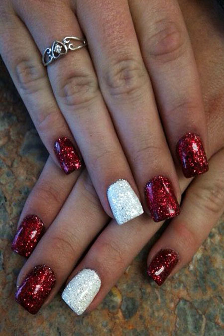 Christmas Holiday Acrylic Glitter