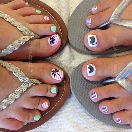 Toe Toenail Pedi Pedicure