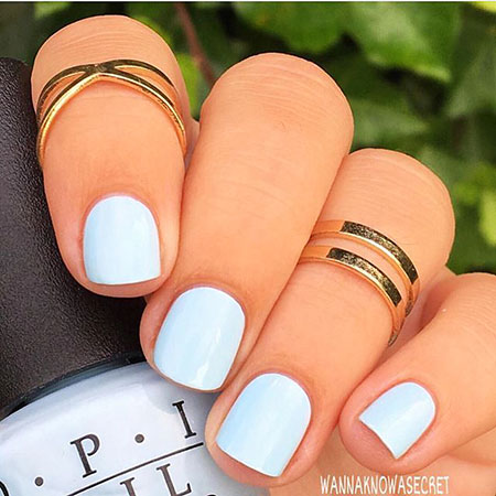 Manicure Spring French Accent