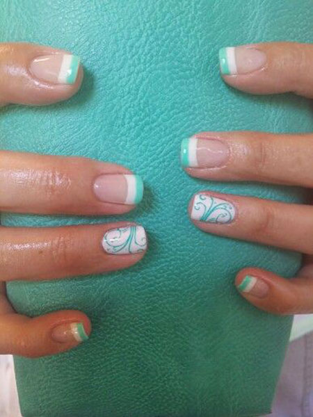 Mint French Pretty Gel