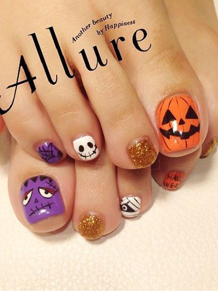 Halloween Toe Trendy Disney