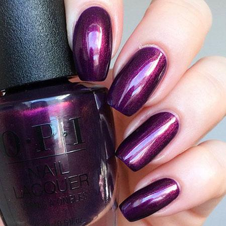 Polish Tree Purple Colors