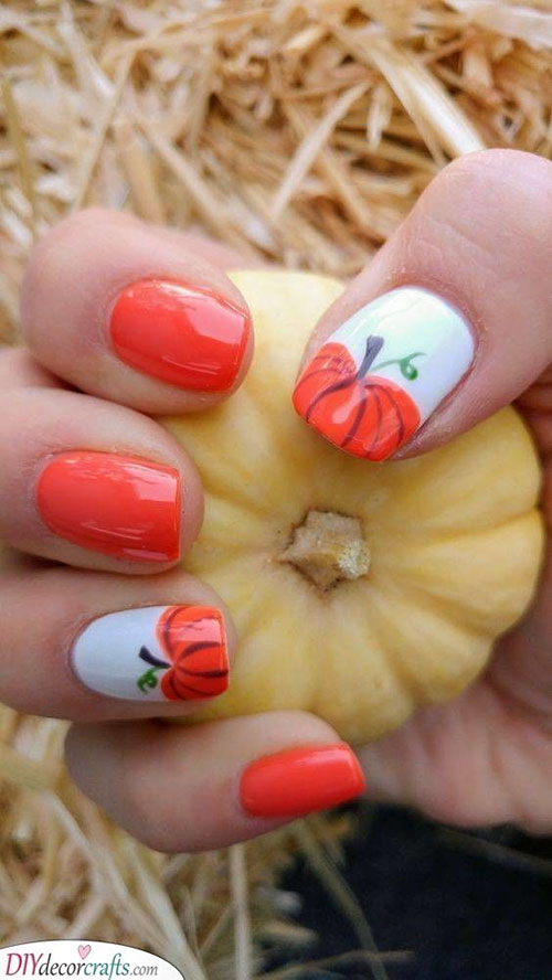 Gel Nails Halloween