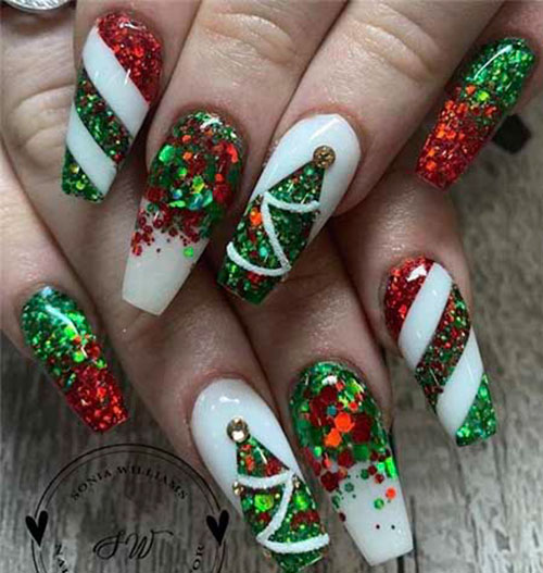 Acrylic Christmas Nail Ideas