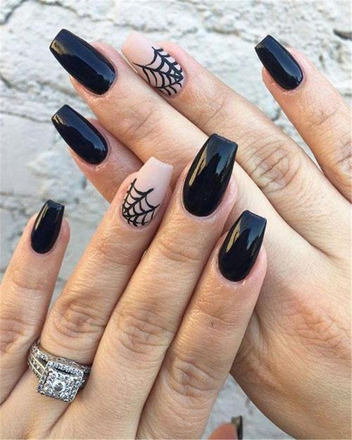 Nail Art For Black Nails