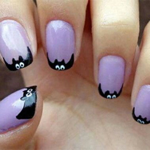 Gel Nails Halloween