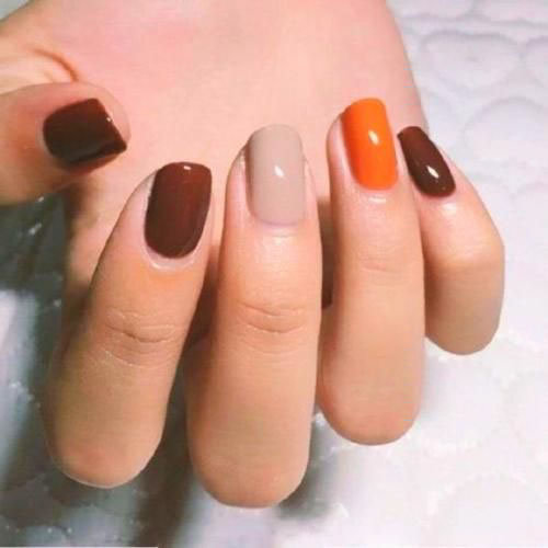 Popular Fall Nail Colors