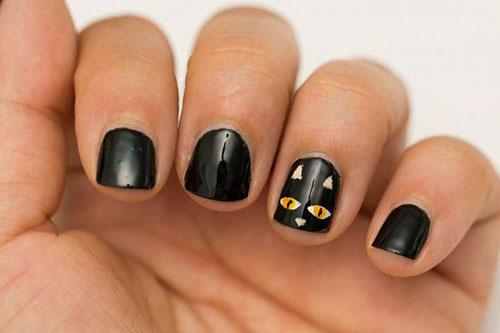 Black Nail Art Ideas