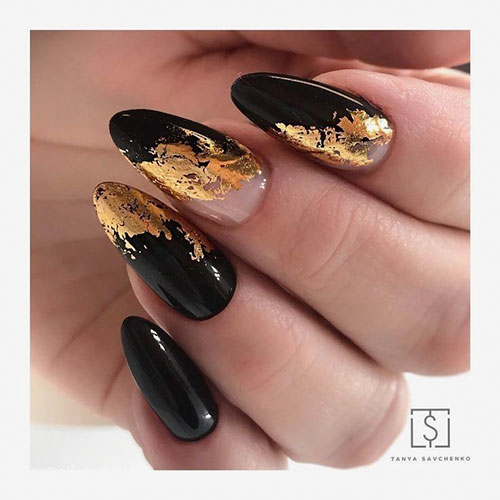Black Nail Art Ideas