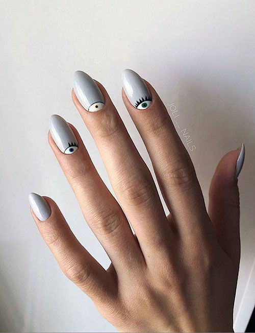 Very Short Almond Nails