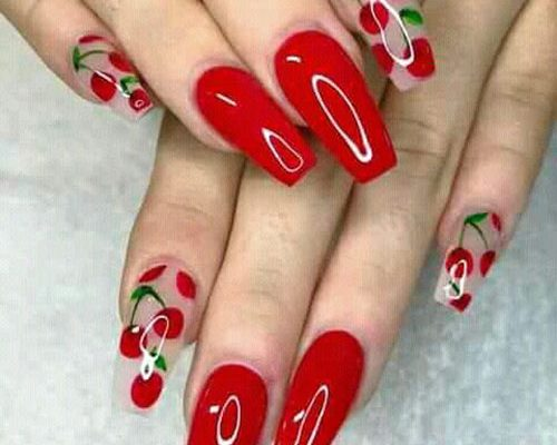 Red Nails Best Nail Art Designs 2020
