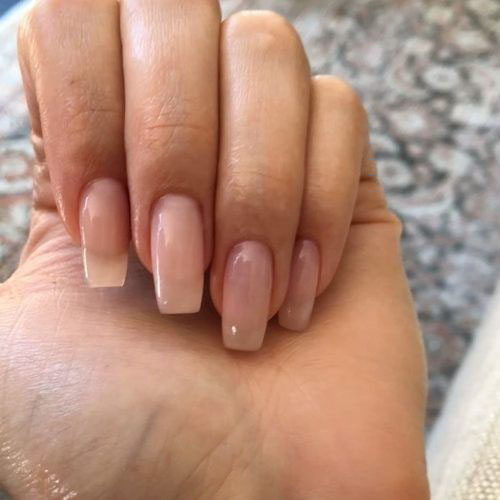 Straight Nail Shape