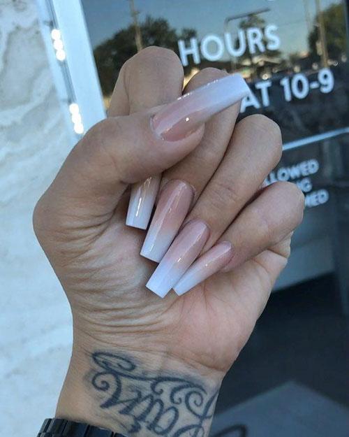 25 New Fashion Long Square Acrylic Nails Best Nail Art Designs 2020