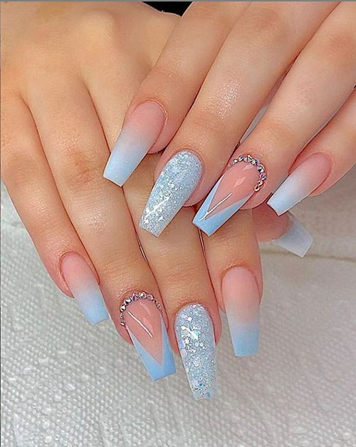 Nail Designs For Coffin