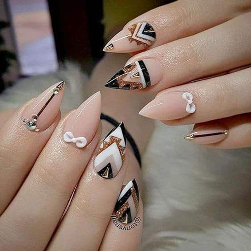 Pictures Of Short Nails